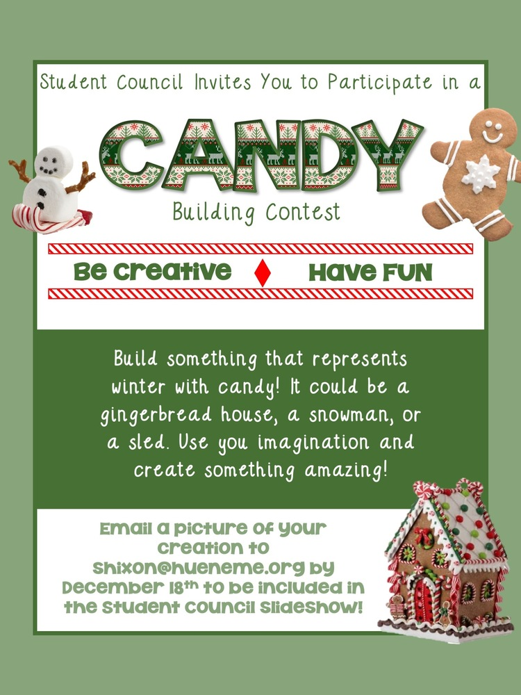 Be Creative! Join the Candy Building Contest!