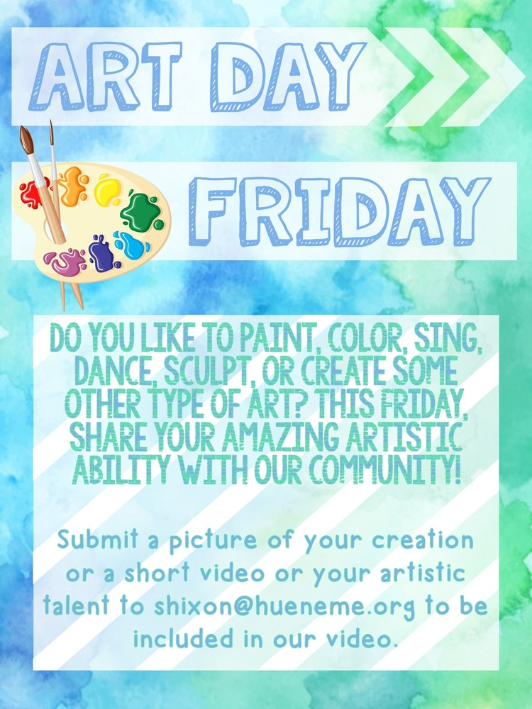 Fun Friday: Art Day! See The Video!