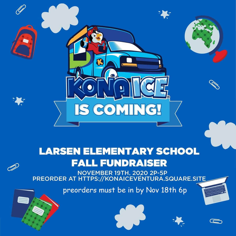 Larsen Parade and Kona Ice Truck Nov. 19