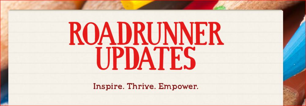 Roadrunner Updates Newsletter