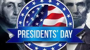 Dias Feriados en honor a los presidentes/ Presidents Holiday
