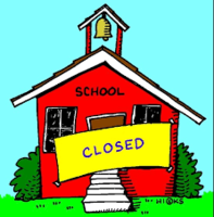 School Closed - Cierre Escolar