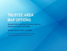 Proposed Trustee Area Maps