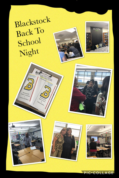 Blackstock back to School Night