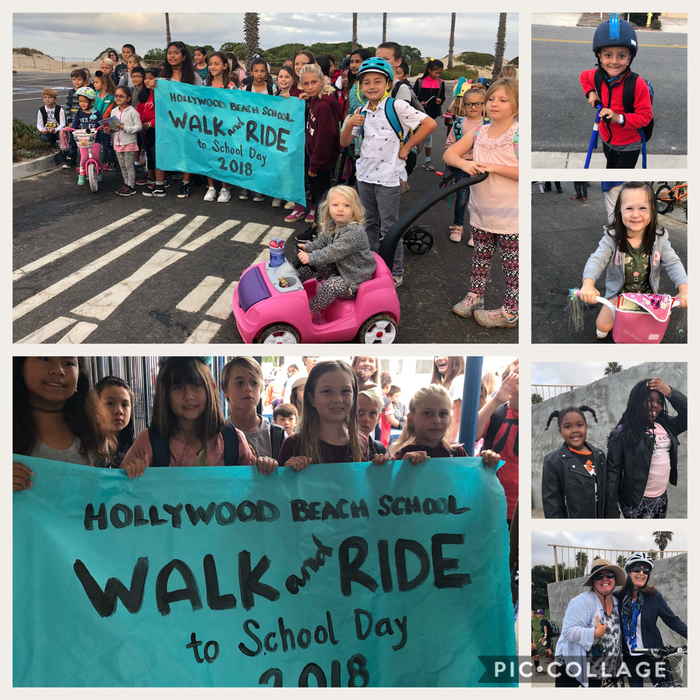 Walk and Ride to School Day!