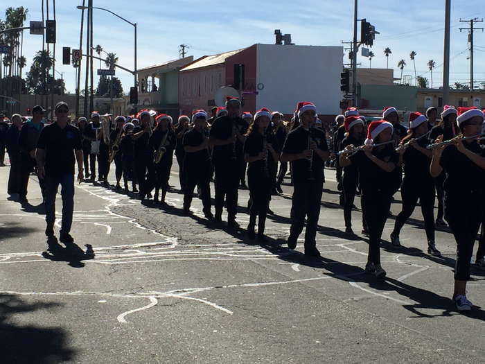 A great performance by our very own Blackstock's Band at the Oxnard Christmas Parade!