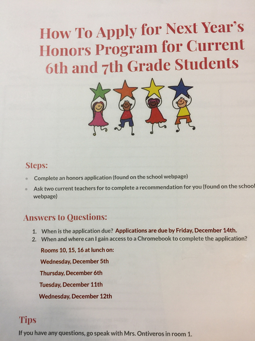 Honors Academic Program
