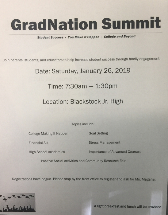 You are invited to attend GradNation