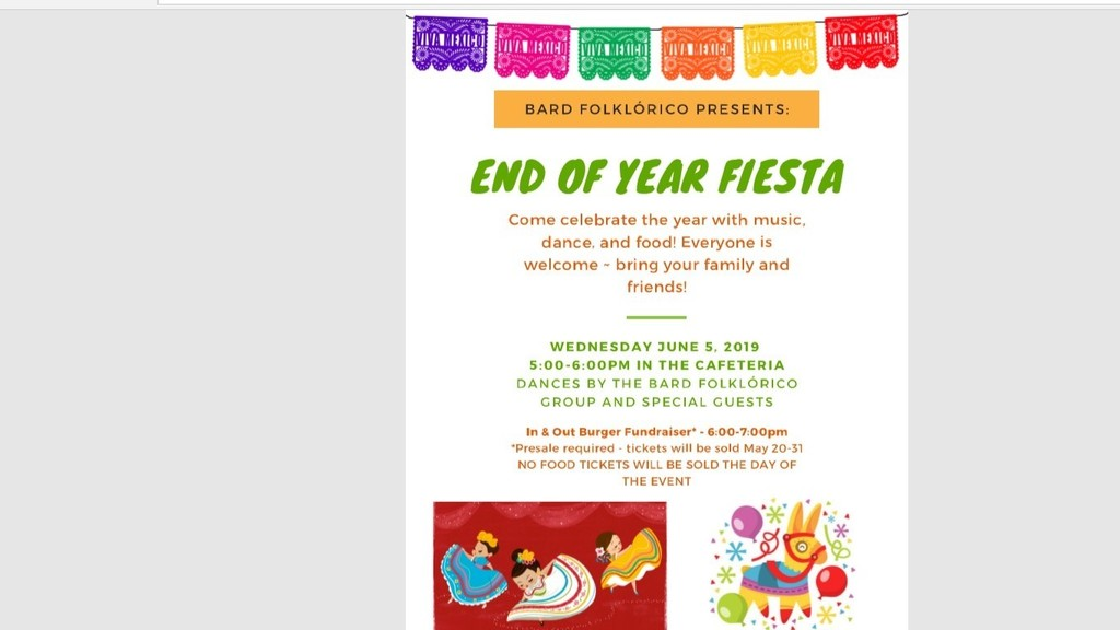 End of Year Fiesta