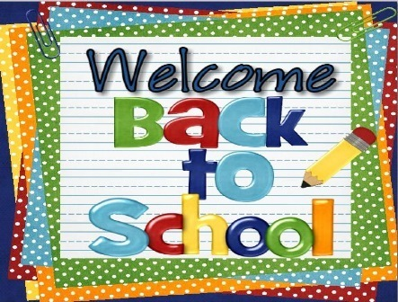 8/27- FIRST DAY OF SCHOOL  M,T,Th,Fr 1-3- @ 2:40 & 4th-5th @2:46   Early Dismissal will now be on Wednesdays   1-3 @ 12:07    4th-5th @ 12:27