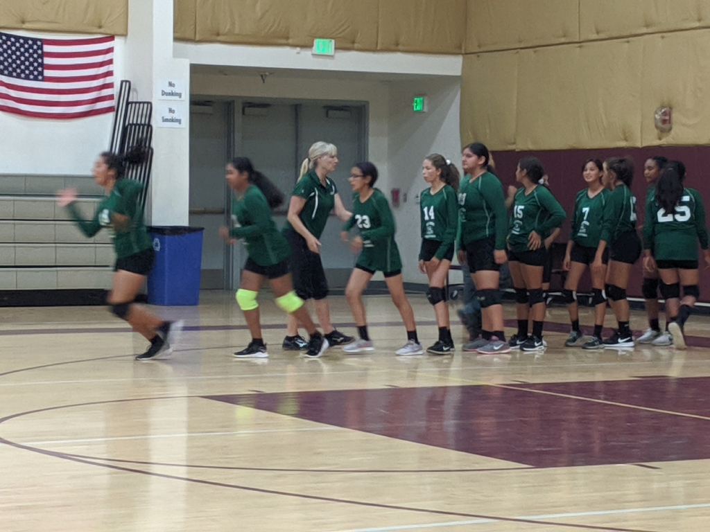 Green JHS Volleyball 1