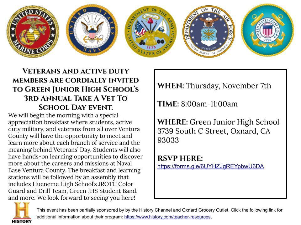 Veterans Day Invitation