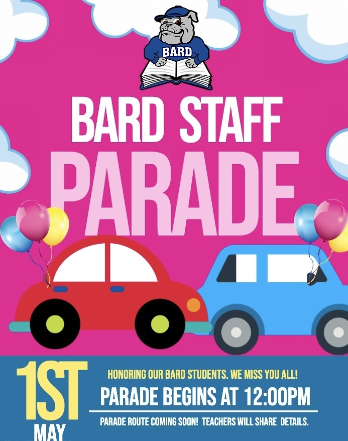 May 1st Parade Flyer