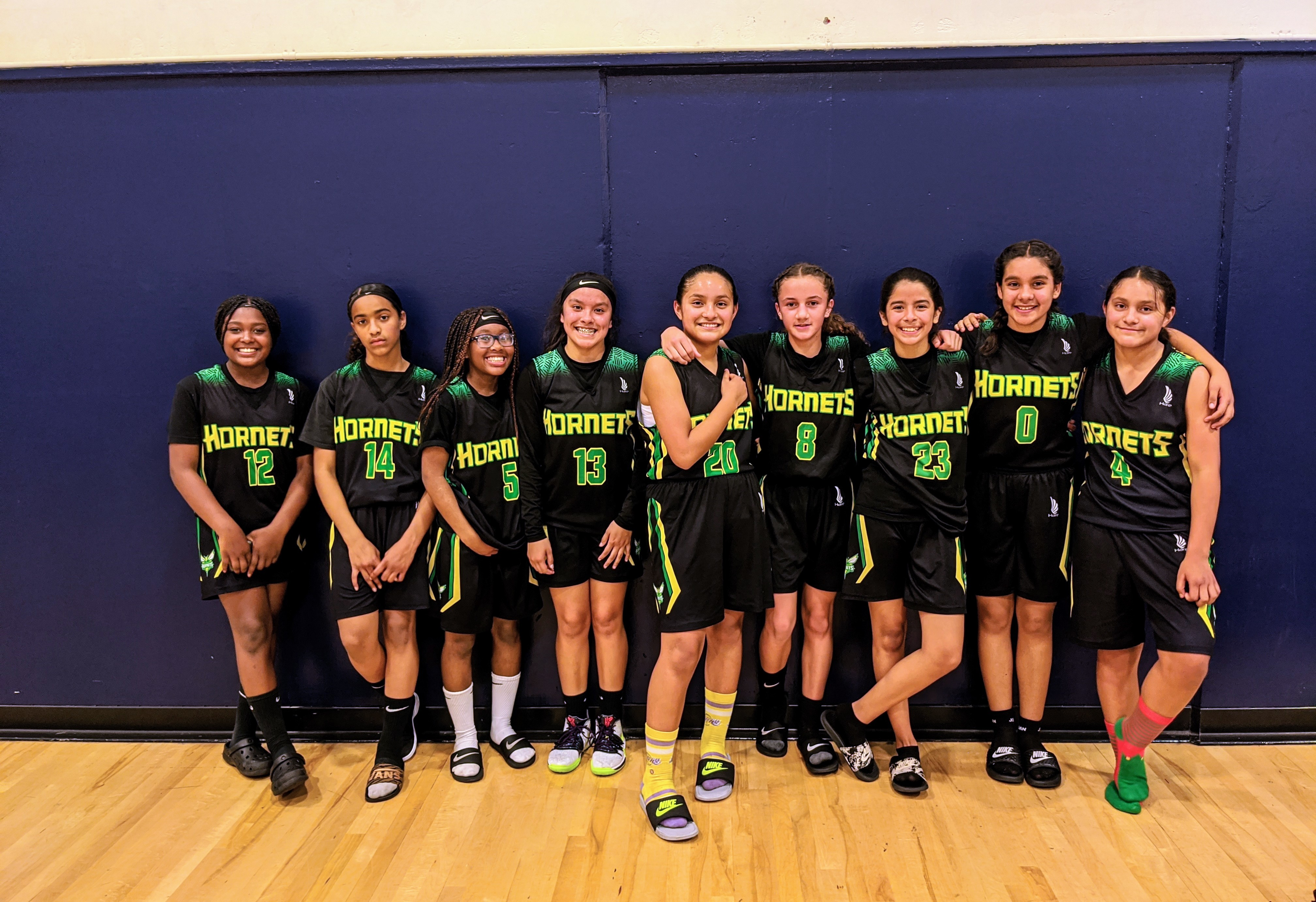 Green JHS Girls Basketball
